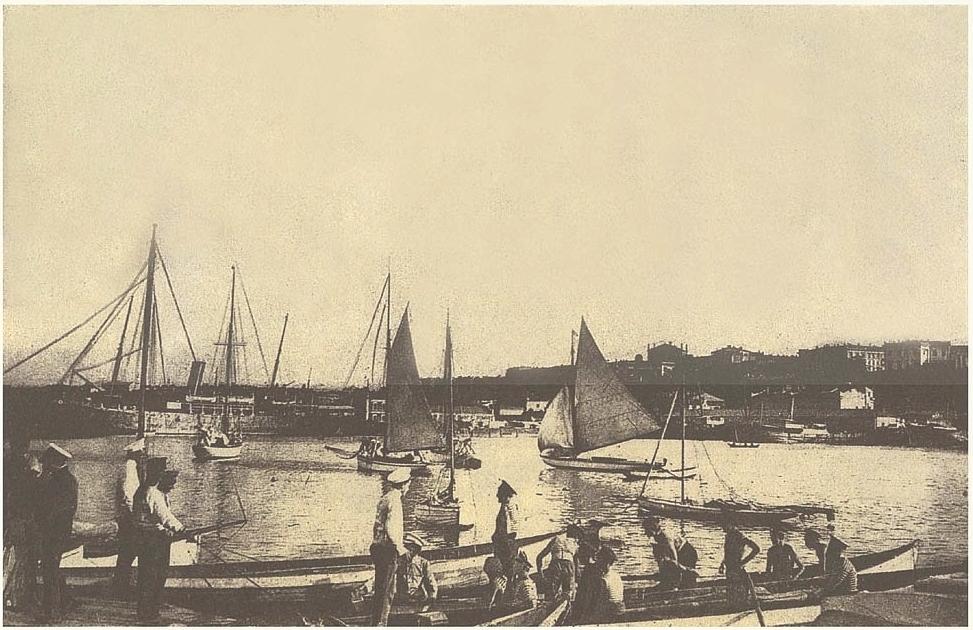 порт вид море 1