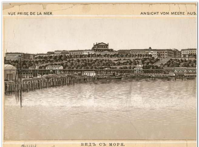 порт вид море 2
