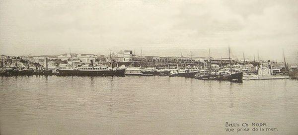 порт вид море 4