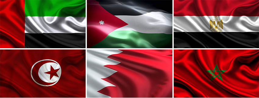 флаги, арабский язык